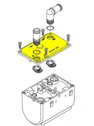 Крышка корпуса (теплообменника) Hydronic I WS/SC 252216010002