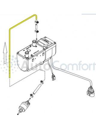 """Магистраль топливная 4x1,25 мм """"доз.насос-отопитель"""", 1 метр 89031118"""