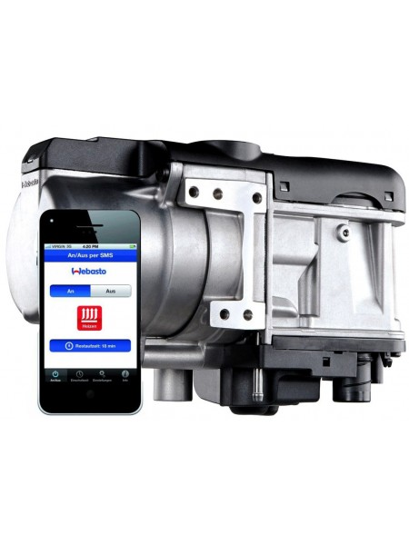 Диагностика предпускового подогревателя двигателя Webasto (Вебасто) - заводская (штатная) установка