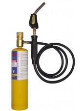 MAPP горелка для пайки газом с пьезо поджигом и шлангом 1.5 м (1982°C) FavorCool T-CAT