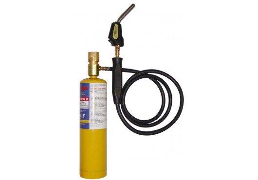 MAPP горелка для пайки газом с пьезо поджигом и шлангом 1.5 м (1982°C) FavorCool T-CAT, 2 700.00 р.