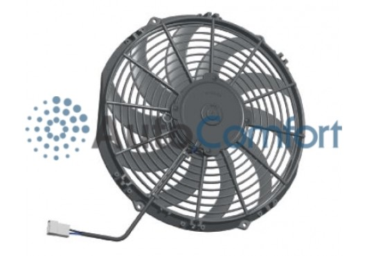 Вентилятор осевой Ø10' (крыльчатка 255 мм) 12V PULL 100W