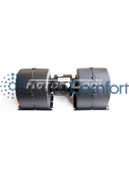Вентилятор радиальный сдвоенный 302.5x77 24V 140W (1 скорости)