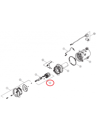 Горелка со штифтом накаливания Thermo Pro 90 12V 1317517