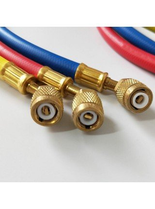 Шланги заправочные 1/4SAE (комплект 3 шт.) 150см. FavorCool