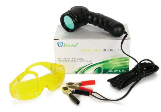 Комплект для обнаружения утечек фреона (лампа УФ 12V + очки защитные) BC-UV-L-50 UV, 3 600.00 р.