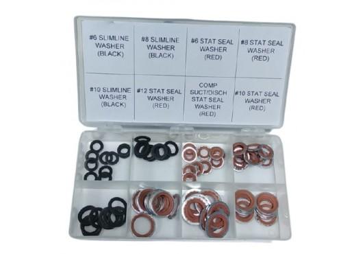 Набор уплотнительных колец O'Ring металлизированных для автокондиционеров (Ford, Chevrolet, Opel, GM), 2 700.00 р.