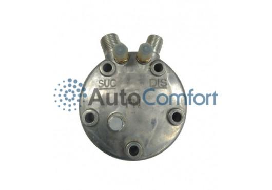 Крышка задняя компрессора 5H11/5H14: тип FG (вертикальные выходы O'Ring HP #8, LP #10) + заправочные порты и клапан, 1 600.00 р.