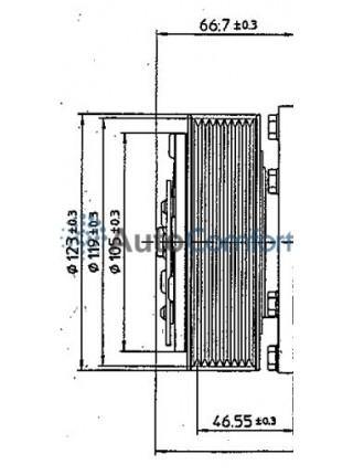 Шкив компрессора 5Н11 PV8