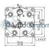 Крышка задняя компрессора 7H15: тип KG (горизонтальные выходы O'Ring HP #8, LP #10), 1 200.00 р.