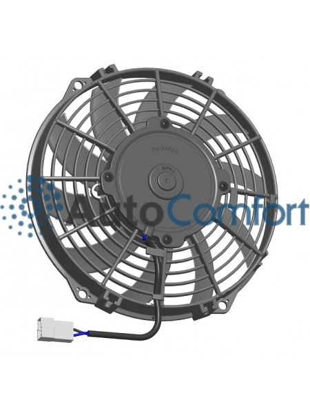 Вентилятор конденсатора Viento 200 осевой Ø09' (крыльчатка 225 мм) 120W 12V PUSH. Аналог Carrier 54-60004-00 FAN & MOTOR