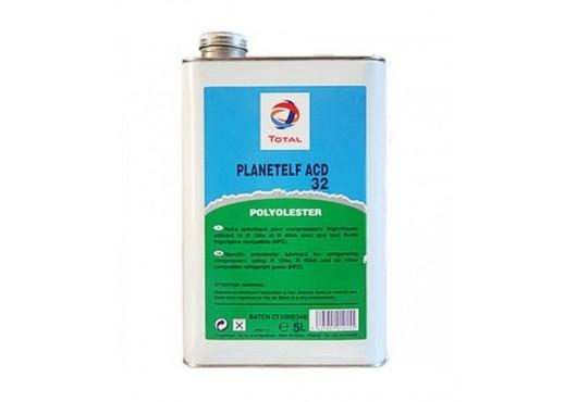 Масло TOTAL PLANETELF ACD 32 5L (5 литров) для компрессоров авторефрижераторов и автокондиционеров, 5 800.00 р.