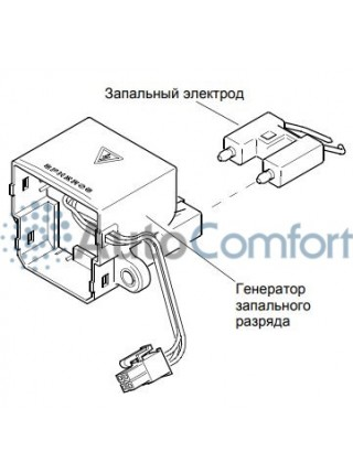 Катушка высоковольтная Thermo E 200/320 11114862