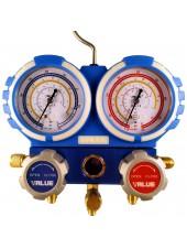 Манометрический коллектор (станция) для R22, R134a, R404A, R407C VALUE