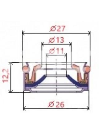 Сальник (манжета) вала компрессора 5H11/5H14