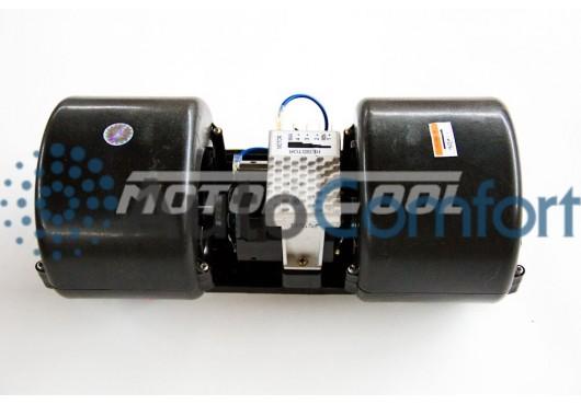 Вентилятор радиальный сдвоенный 351x136 12V 140W (4 скорости), 3 750.00 р.