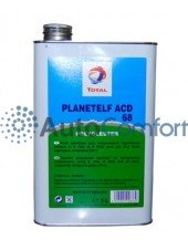 Масло TOTAL PLANETELF ACD 68 5L (5 литров) для компрессоров авторефрижераторов и автокондиционеров