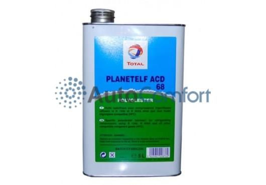 Масло TOTAL PLANETELF ACD 68 5L (5 литров) для компрессоров авторефрижераторов и автокондиционеров, 6 000.00 р.