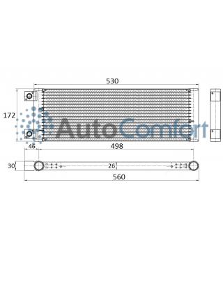 Конденсатор (радиатор) Zanotti  Zero 10, 12, 20. Артикул: 3cnd573