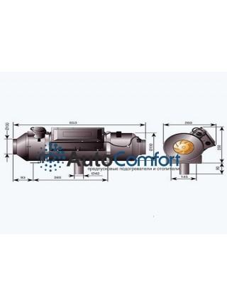 Airtronic D8LC 24B без монтажного комплекта 251891000000