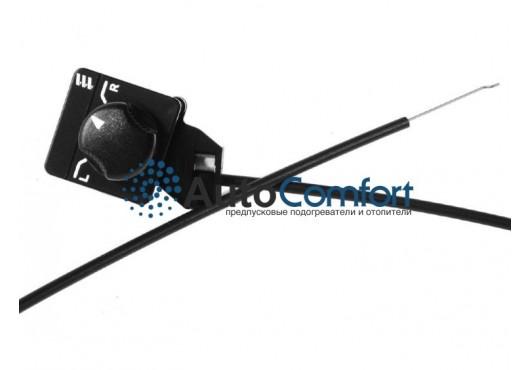 Трос управления заслонкой воздушного клапана из кабины,  2000 мм 221000010300, 1 270.00 р.