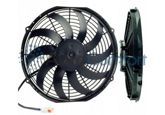 Вентилятор конденсатора Viento 300, 350 осевой Ø13' (крыльчатка 305 мм) 120W 24V PUSH. Аналог Carrier 54-00611-10, 54-00623-10, 4 200.00 р.
