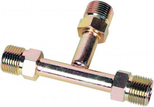 """Фитинг стальной """"тройник"""" T-образный с внешней резьбой 8 мм #6 O-ring (3/8""""), 150.00 р."""