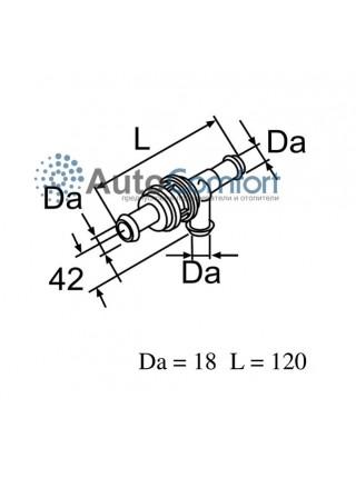 Клапан обратный (пластик)  / 12785B