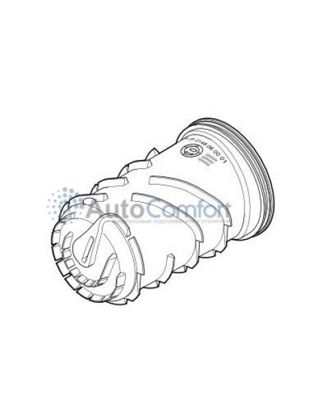 Корпус (теплообменник) Hydronic WS/WSC внутренняя часть, съёмные штуцеры 25 2149 06 00 01