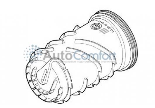 Корпус (теплообменник, внутренняя часть) Hydronic WS/WSC (съёмные штуцеры) 25 2149 06 00 01