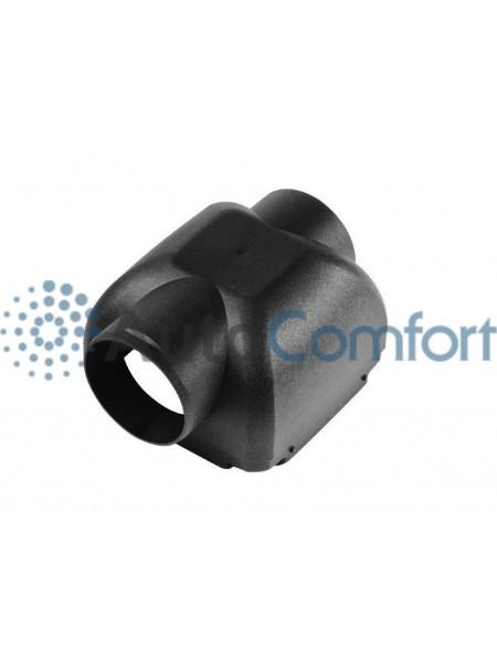 Деталь корпуса, крышка подачи нагретого воздуха угловая Ø60 Airtronic D2 221000010020