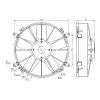 Вентилятор осевой Ø13' (крыльчатка 305 мм) 160W 24V PULL. Terra Frigo на конденсатор, 4 600.00 р.