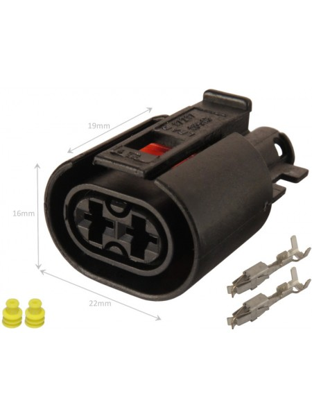 Разъем 2-pin Webasto Thermo Top C/Z/E, Thermo 50