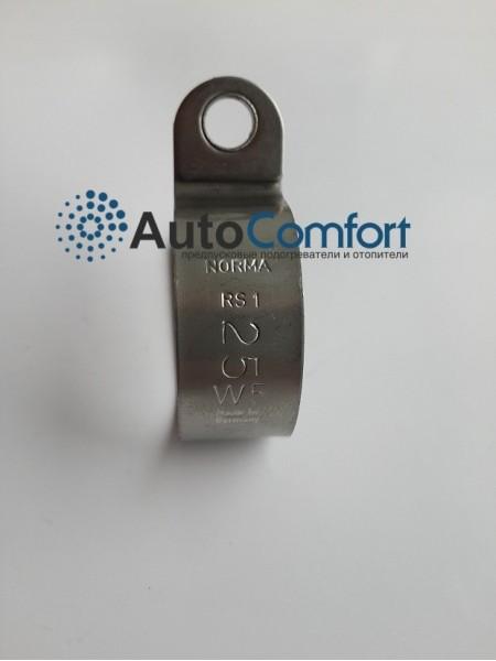 Хомут крепежный Ø25 металл