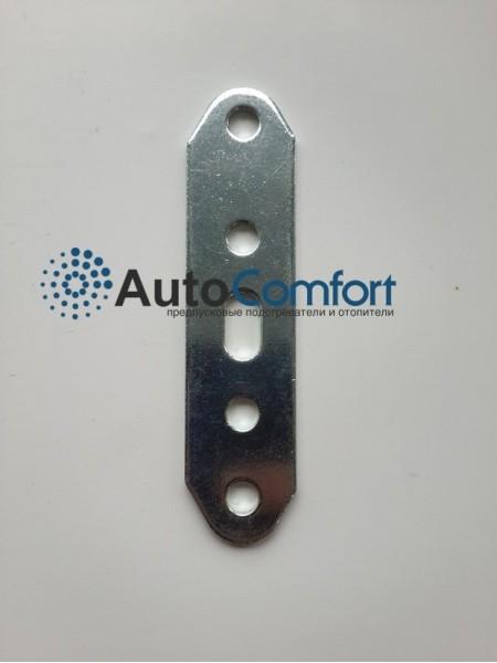 Пластина монтажная прямая стальная 100х28 мм. за 1 шт.