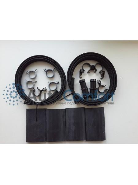 Защитная оплетка шланга с комплектом   синт. материал