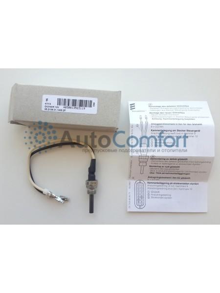 Свеча (штифт) накаливания Hydronic 12V (8V) E113, с проводами 25210601100