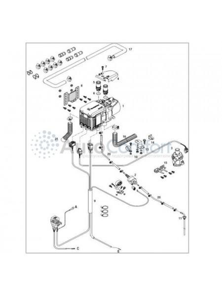 Монтажный комплект Hydronic S3 базовый 293380000008