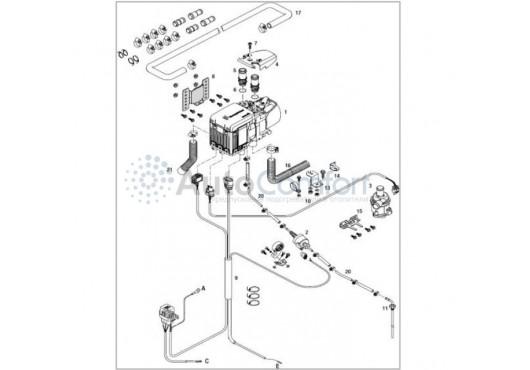 Монтажный комплект Hydronic S3 базовый 293380000008, 7 700.00 р.