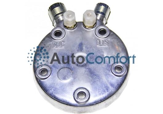Крышка задняя компрессора 5H11/5H14: тип FG (вертикальные выходы O'Ring HP #8, LP #10) + заправочные порты , 1 400.00 р.