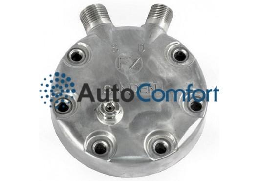 Крышка задняя компрессора 7H15: тип JD (вертикальные выходы O'Ring HP #8, LP #10) + клапан сброса давления, 1 340.00 р.